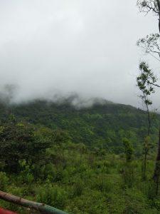 between cloud