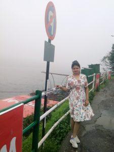 love in rain near venna lake